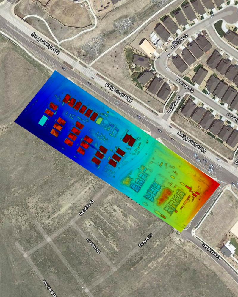 Aerial Construction Site Monitoring